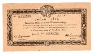 FACSYMILE 1968 z Biuletynu Numizmatycznego - 1 Talar 1810