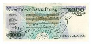 5.000 złotych 1988 - seria BD
