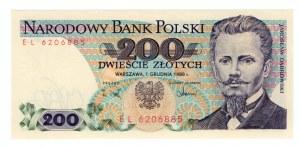 200 złotych 1988 - seria EL