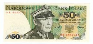 50 złotych 1988 - seria HK