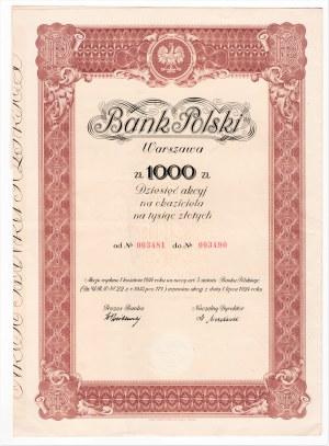 Bank Polski Warszawa - 1.000 złotych