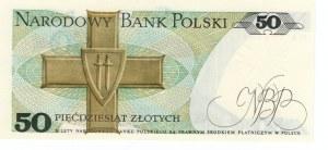 50 złotych 1988 - seria HA