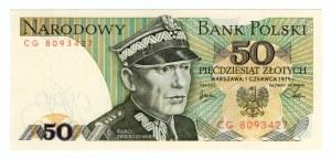50 złotych 1988 - seria CG
