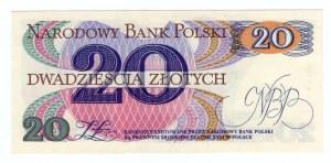20 złotych 1982 - seria U