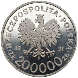 200.000 złotych 1991 - 200 r. Konstytucji 3 maja