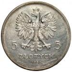II RP -5 złotych 1932 - NIKE - NAJRZADSZY ROCZNIK