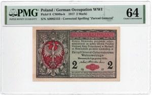 2 Marki 1917 - Generał - PMG 64