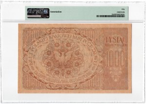 1.000 marek polskich 1919 - PMG 50