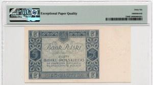 5 złotych 1930 - seria CL - PMG 66 EPQ