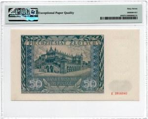 50 złotych 1941 - seria E - PMG 67 EPQ