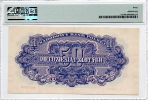 50 Złotych - 1944 owe.... - seria Ay - PMG 40