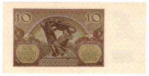 10 złotych 1940 - seria H