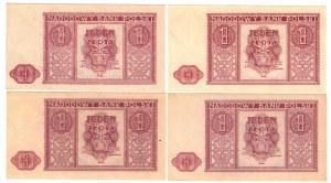 SET 4 sztuki 1 złoty 1946r
