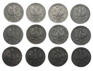 PRL - 12 x 5 złotych 1958-1974