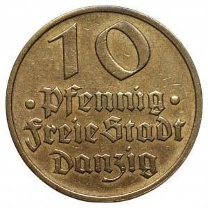 Wolne Miasto Gdańsk - 10 fenigów 1932 - Dorsz