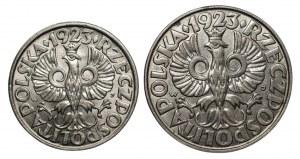 II RP - 20,50 groszy 1923