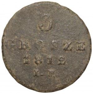 Księstwo Warszawskie - Fryderyk August I - 1 grosz 1812 I.B.