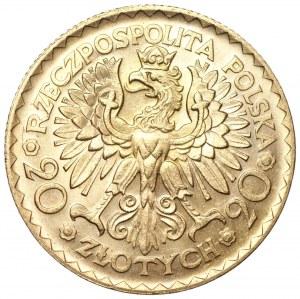 II RP - 20 złotych 1925 - Bolesław Chrobry