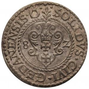 Stefan Batory (1576-1586_ - Szeląg 1582 Gdańsk
