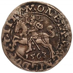 Zygmunt II August (1545-1572) - półgrosz 1563 L/LITVA