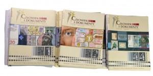 PWPW - Człowiek i Dokumenty - Kwartalnik różne lata 80 sztuk