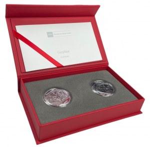 Zestaw dwóch monet 10 zł HOŁD PRUSKI + HOŁD RUSKI - Ag 925