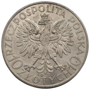 II RP - 10 złotych 1933 Polonia