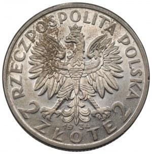 II RP - 2 złote 1934 - Polonia