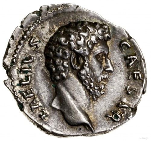 Denar, 137, mennica Rzym; Aw: Głowa Aeliusza w prawo, L...
