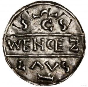 FALS! Denar, przed 1034, mennica Praga; Aw: Kaplica ...