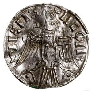 Denar typu Agnus Dei, mennica Lund; Aw: Baranek Boży (A...