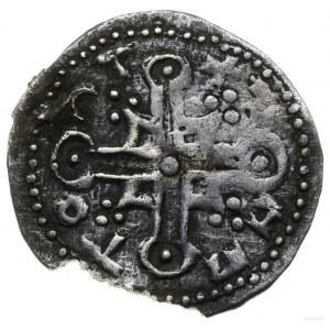 Naśladownictwo denara angielskiego Knuta, 1035–1042; Aw...