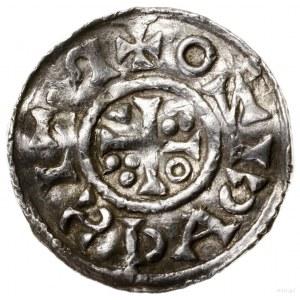 Denar, 1009–1024, mennica Ratyzbona, mincerz Id; Aw: Po...