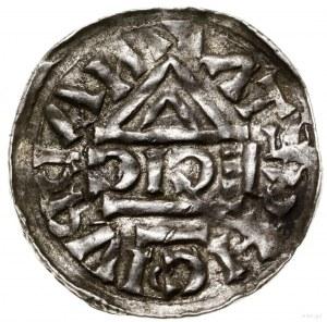 Denar, 1002–1009, mennica Nabburg, mincerz Ag; Aw: Krzy...