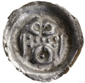 Brakteat, po 1278 (?); Brama z siedmioma okrągłymi okna...