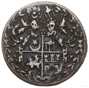 Podskarbiówka (liczman), 1582, mennica Wilno; Aw: W wie...