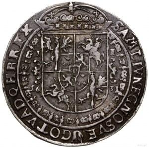 Talar, 1631, mennica Bydgoszcz; Aw: Wąska półpostać kró...