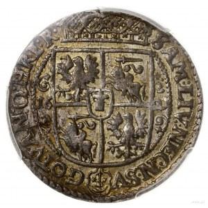 Ort, 1621, mennica Bydgoszcz; końcówka legendy PRV M; K...