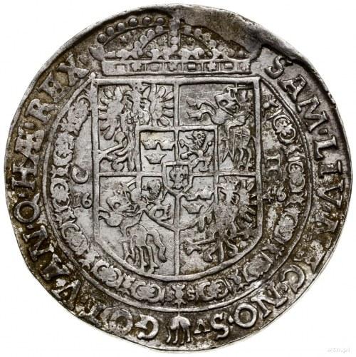Talar, 1646, mennica Kraków; Aw: Popiersie władcy w ozd...