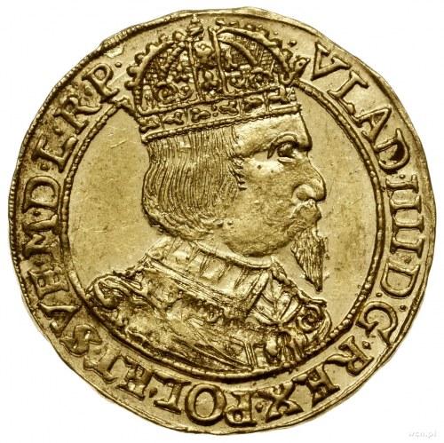 Dukat, 1637, mennica Toruń; Aw: Popiersie króla w prawo...