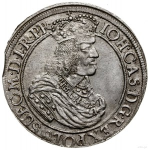 Ort, 1662, mennica Gdańsk; na awersie końcówka PR, na r...