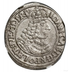 Ort, 1662, mennica Toruń; na awersie POL ET SVE, na rew...