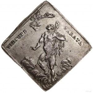 Klipa talara strzeleckiego, 1699, mennica Drezno; Aw: M...