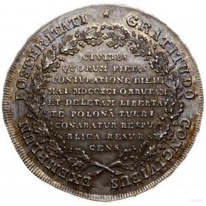 Talar historyczny zwany targowickim, 1793, mennica Wars...