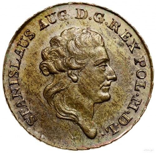 Dwuzłotówka (8 groszy), 1784 EB, mennica Warszawa; z li...
