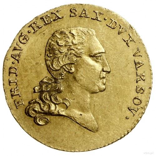 Dukat, 1812, Warszawa; Aw: Głowa Fryderyka Augusta w pr...