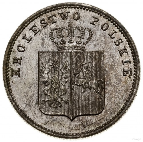 2 złote, 1831 KG, Warszawa; odmiana z kropką po POL iP...