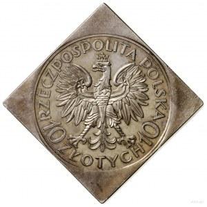 Klipa 10 złotych, 1933, Warszawa; Romuald Traugutt – 70...