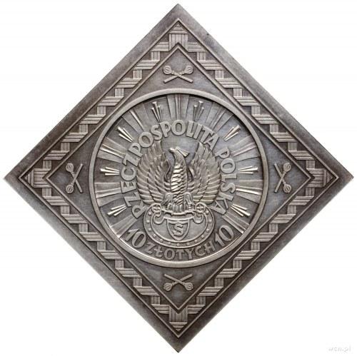 Klipa 10 złotych, 1934, Warszawa; Józef Piłsudski – Orz...