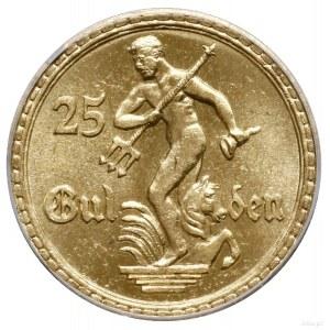 25 guldenów, 1930, Berlin; Posąg Neptuna; CNG 526, Fr. ...